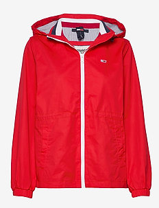 TJW HOODED WINDBREAK - lichte jassen - deep crimson