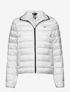 TJW QUILTED ZIP THRU - padded jackets - white