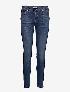 NORA MR SKINNY ANKLE ZIP ADY - skinny jeans - audrey mid bl str