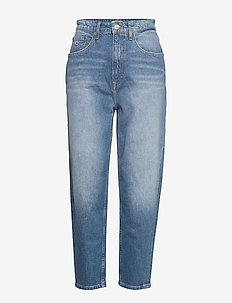 MOM JEAN HR TAPERED - mom-jeans - anin mid bl com