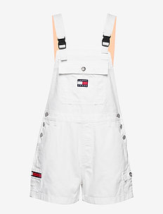 DUNGAREE SHORT CLWTH - jumpsuits - classic white twill