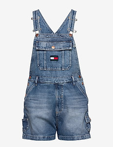 DUNGAREE SHORT SVLTR - jumpsuits - save 20 lt bl rig