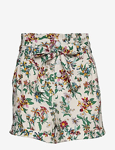 TJW PRINTED PAPERBAG SHORT - casual shorts - hawaii print
