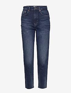 MOM JEAN HR TPRD CNDBCF - mom jeans - cony dark blue comfort