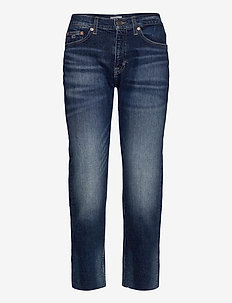 IZZY HR SLIM ANKLE CNDBCF - straight jeans - cony dark blue comfort