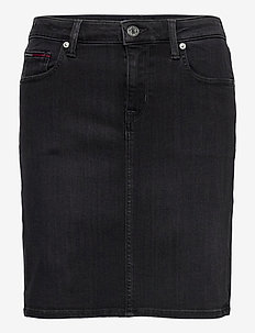 CLASSIC DENIM SKIRT BRBK - jupes en jeans - bird black stretch