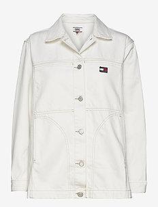 WORKWEAR JCKT WRWHR - vestes en jean - work white rigid