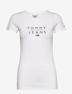 TJW ESSENTIAL LOGO TEE - logo t-shirts - white
