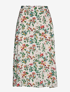TJW SUMMER MIDI SKIRT - midi skjørt - hawaii print