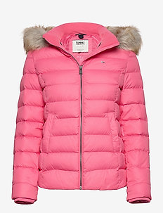 TJW BASIC HOODED DOWN JACKET - down- & padded jackets - glamour pink