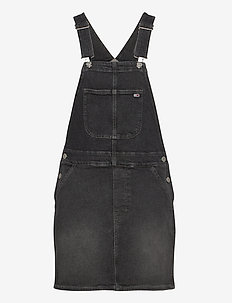 CLASSIC DUNGAREE DRESS SVBKC - jeansjurken - save pf black comfort