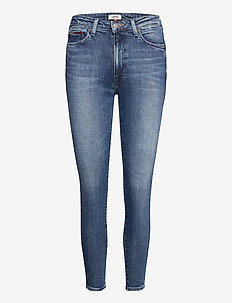SYLVIA HR SUPER SKNY ANKLE JSMBS - dżinsy skinny fit - jasper mid blue stretch