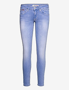 SCARLET LR SKNY MLBST - skinny jeans - maldive light blue stretch