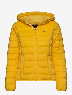 TJW HOODED QUILTED ZIP THRU - fôrede jakker - star fruit yellow