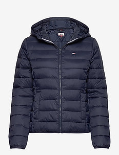 TJW HOODED QUILTED ZIP THRU - gewatteerde jassen - twilight navy