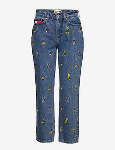 TJW LOONEY TUNES MOM - LIGHT BLUE DENIM