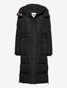 TJW OVERSIZE MODERN PUFFA COAT - wyściełane płaszcze - black