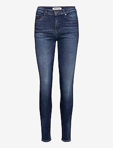 NORA MR SKNY DYMDBS - skinny jeans - dynamic mira dark blue str