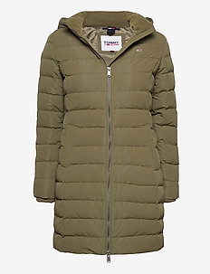 TJW QUILTED DOWN COAT - quiltede jakker - olive tree