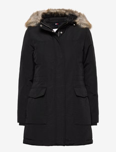 TJW TECHNICAL DOWN PARKA - parkaser - black