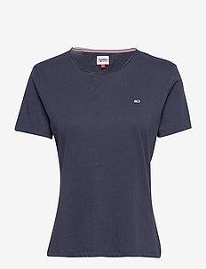 TJW SLIM JERSEY C NECK - t-shirts - twilight navy