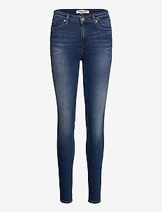 NORA MR SKNY NNMBS - skinny jeans - new niceville mid blue stretch