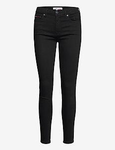 NORA MR SKNY STBKS - skinny jeans - staten black stretch
