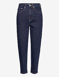 MOM JEAN HR TPRD OLDBCF - mom jeans - oslo dark blue com