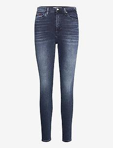 SYLVIA HR SPR SKNY ABBS - skinny jeans - albany bl bk str