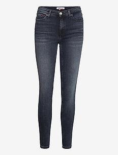 NORA MR SKNY ABBS - skinny jeans - albany bl bk str