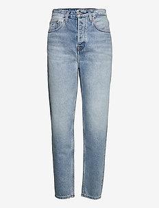 MOM JEAN ULTRA HR TPRD EMF SPLBR - mom jeans - emf sp lb rgd