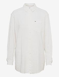 TJW RELAXED LONG  SHIRT - långärmade skjortor - white