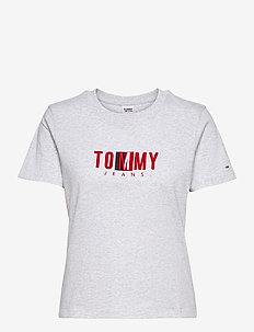 TJW REGULAR TIMELESS BOX TEE - t-shirts - silver grey htr