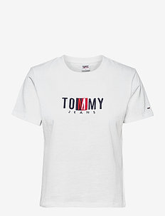 TJW REGULAR TIMELESS BOX TEE - t-shirts - white