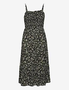 TJW SMOCK MIDI FLORAL DRESS - sommarklänningar - floral print