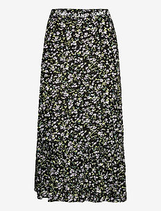 TJW TIERED FLORAL MIDI SKIRT - midi kjolar - floral print