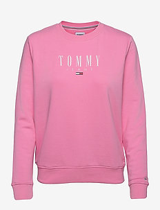 TJW REGULAR ESSENTIAL LOGO - sweatshirts & hoodies - pink daisy