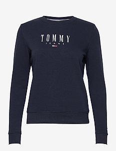 TJW REGULAR ESSENTIAL LOGO - sweatshirts & hoodies - twilight navy
