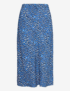 TJW LEO PRINT MIDI SLIP SKIRT - midi kjolar - abstract leopard print