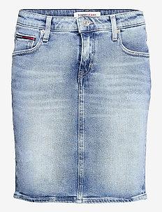 CLASSIC DENIM SKIRT ALBS - jeanskjolar - arina lb str