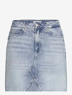 SHORT DENIM SKIRT ALBC - jeanskjolar - ames lb com