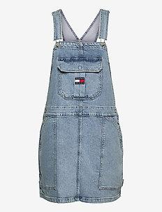 CARGO DUNGAREE DRESS TJLLBC - jeansklänningar - tj leon lb com