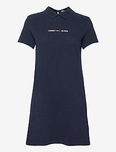 TJW ESSENTIAL POLO DRESS - sommarklänningar - twilight navy