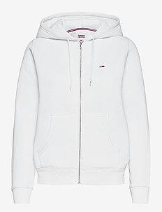 TJW REGULAR HOODIE ZIP THROUGH - sweatshirts & hoodies - white