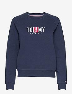 TJW BXY TIMELESS BOX SWEATSHIRT - sweatshirts & hoodies - twilight navy
