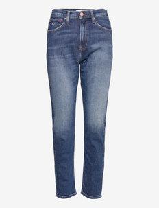 IZZIE HR SLIM ANKLE AE632 MBC - slim jeans - denim medium