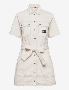 UTILITY TWILL DRESS AE795 SWR - sommerkjoler - denim color