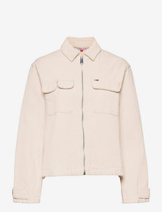 TJW ZIP MULTIPOCKET OVERSHIRT - blouses à manches longues - smooth stone
