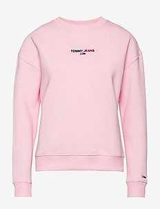 TJW LINEAR CREW NECK - sweatshirts - romantic pink