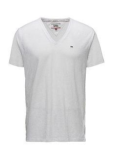 TJM ORIGINAL TRIBLEND V NECK TEE - basis-t-skjorter - classic white